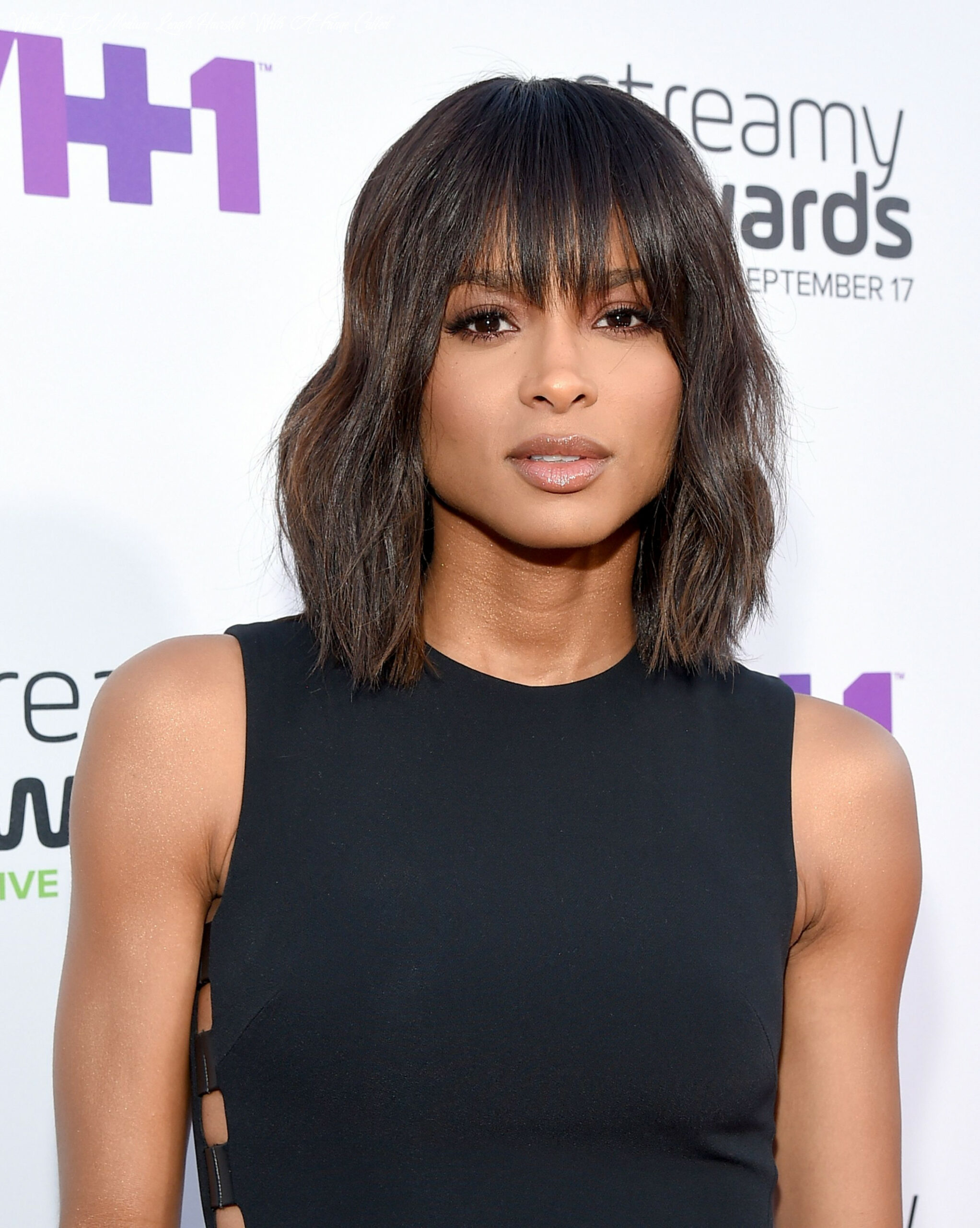 11 best medium length hairstyles, haircuts, and hair ideas for 11 what is a medium length hairstyle with a fringe called