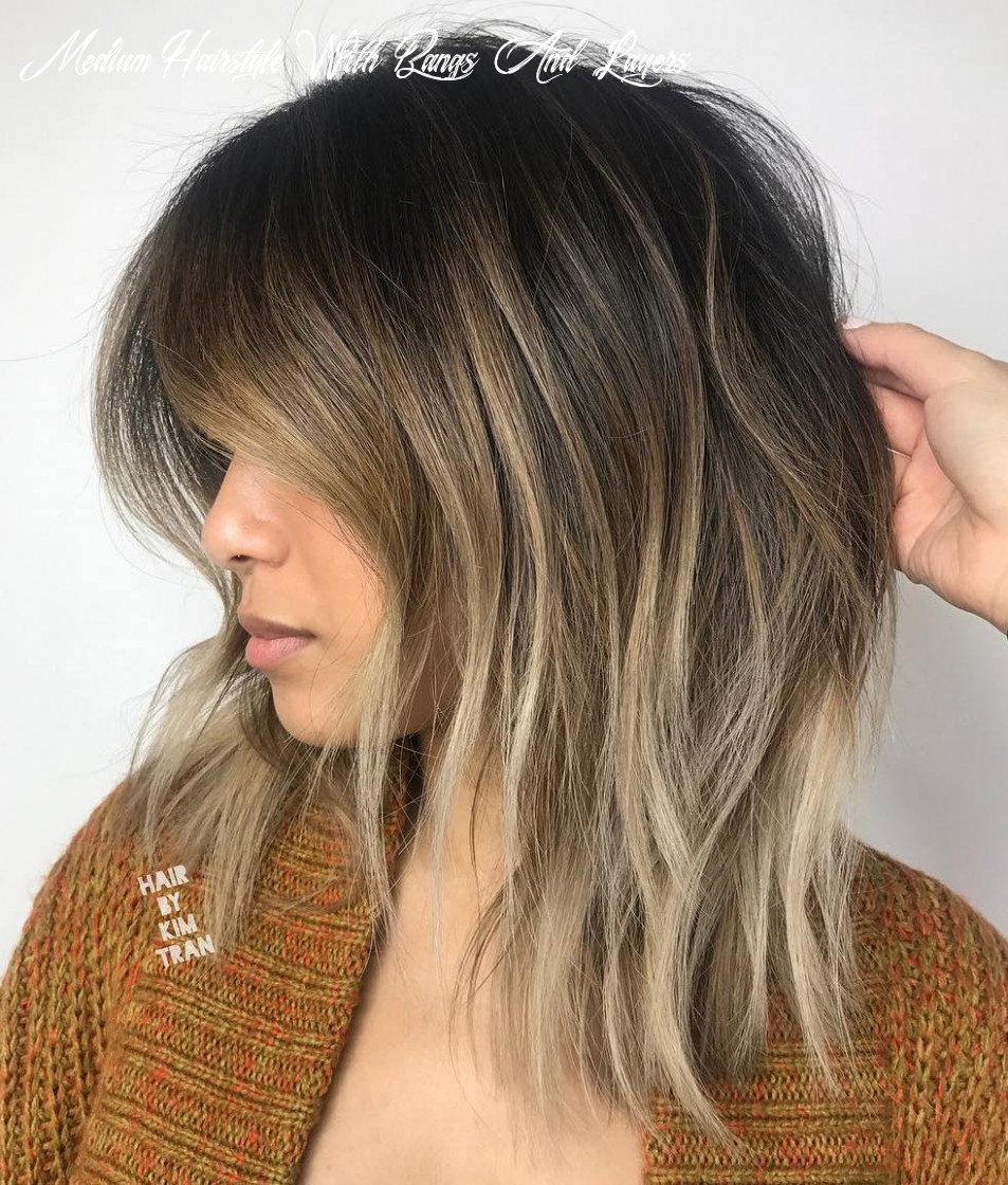 11 best medium length layered haircuts in 11 hair adviser medium hairstyle with bangs and layers