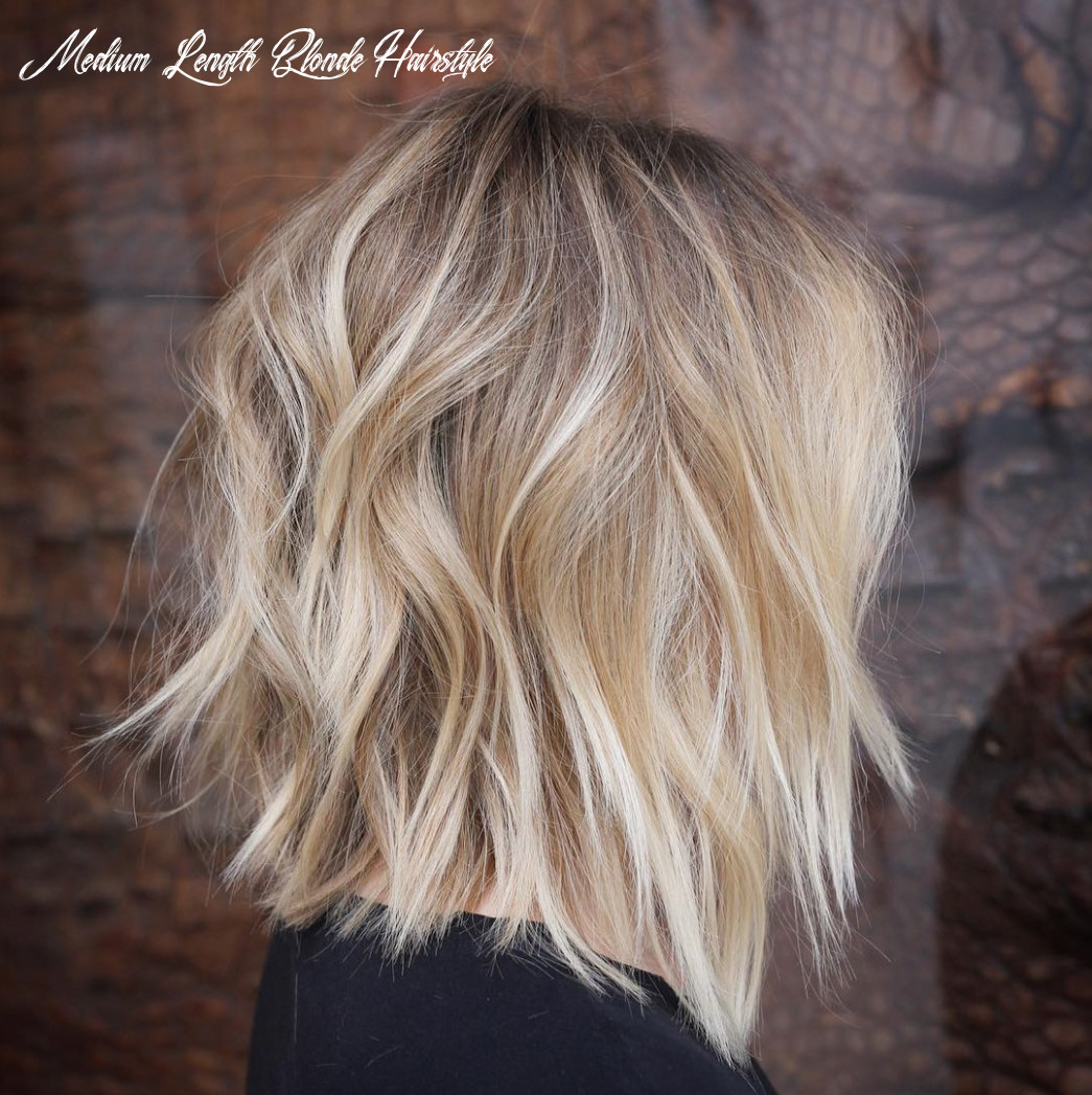 11 best medium length layered haircuts in 11 hair adviser medium length blonde hairstyle
