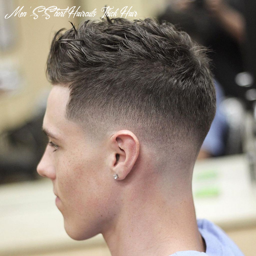 11 best of short hairstyles for thick hair   mens haircuts short