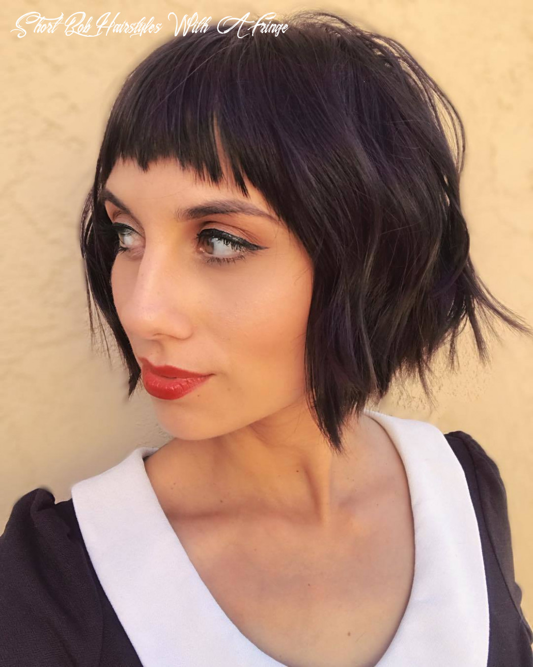 11 best short bobs with bangs haircuts and hairstyles for 11 short bob hairstyles with a fringe