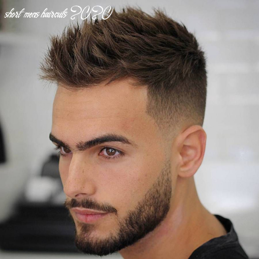 11 best short haircuts for men | herrehår, herrefrisurer, frisure short mens haircuts 2020
