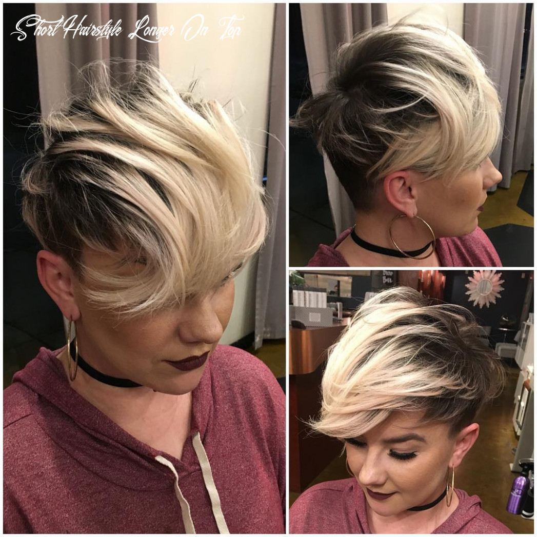 11 best short hairstyles for fine hair 11 short hairstyle longer on top