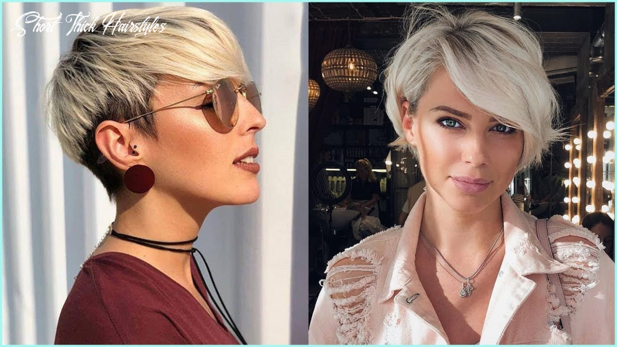 11 best short hairstyles for thick hair – short haircuts for women short thick hairstyles