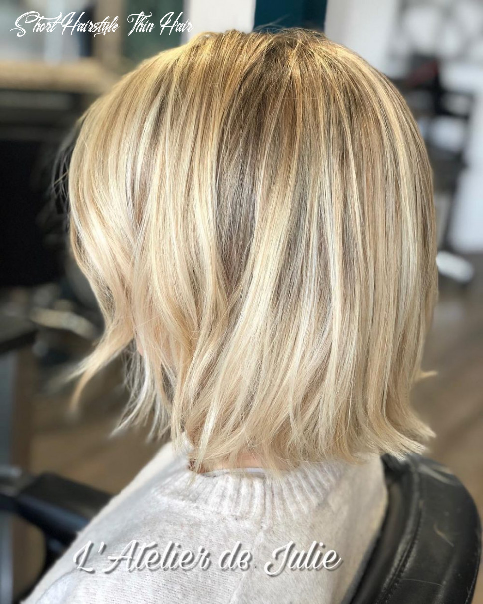 11 best short hairstyles for thin hair to look cute short hairstyle thin hair