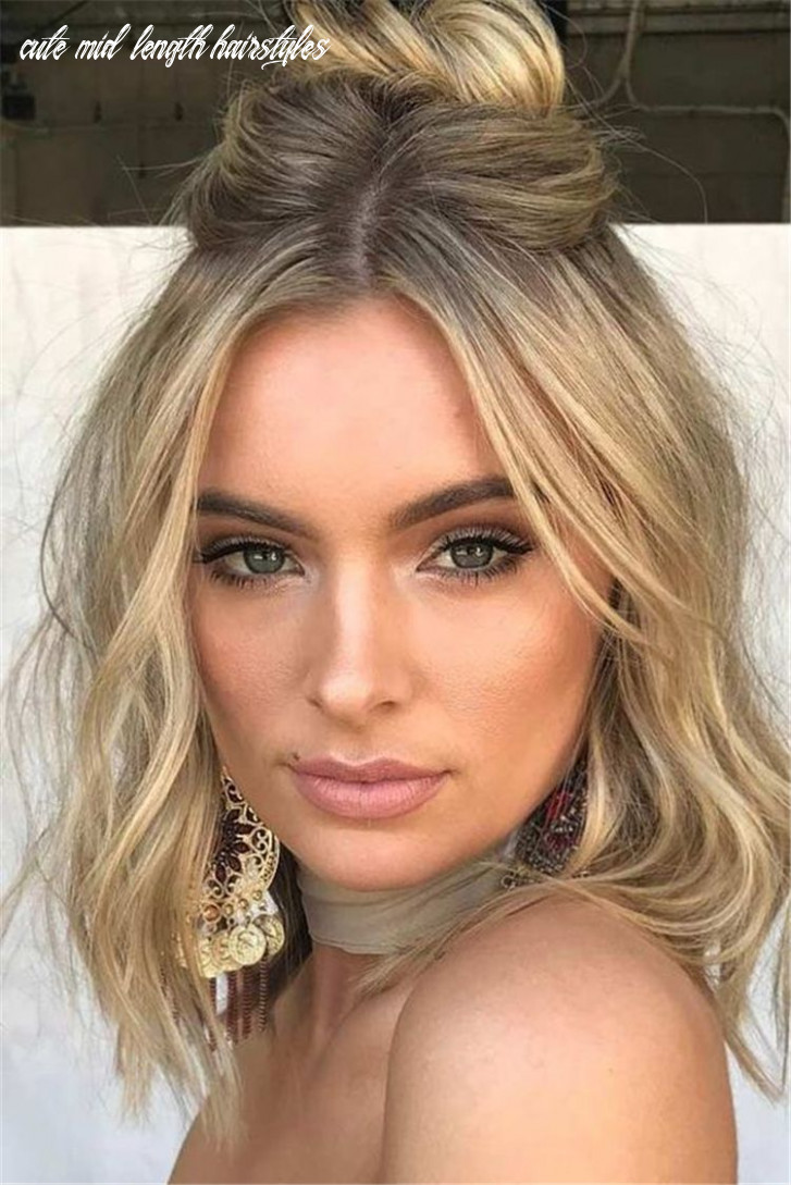 11 best short or mid length hairstyle for spring   prom hairstyles