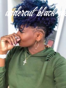 11 best undercut on natural hair images | shaved hair designs