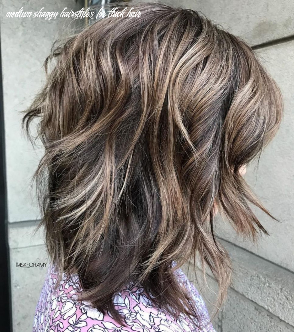 11 best variations of a medium shag haircut for your distinctive
