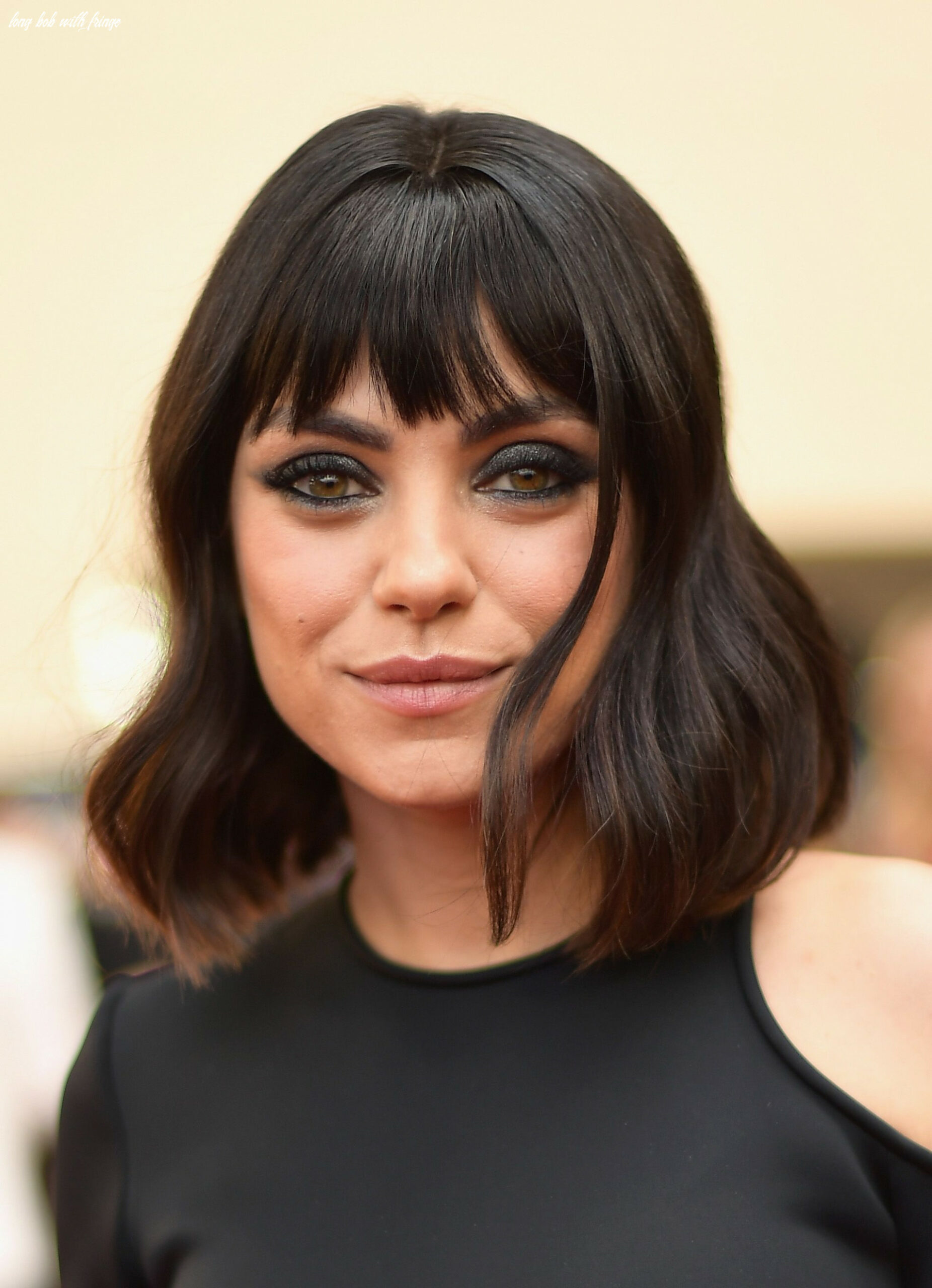 11 bob and lob haircuts 11 and 11 best celebrity bob hairstyles long bob with fringe