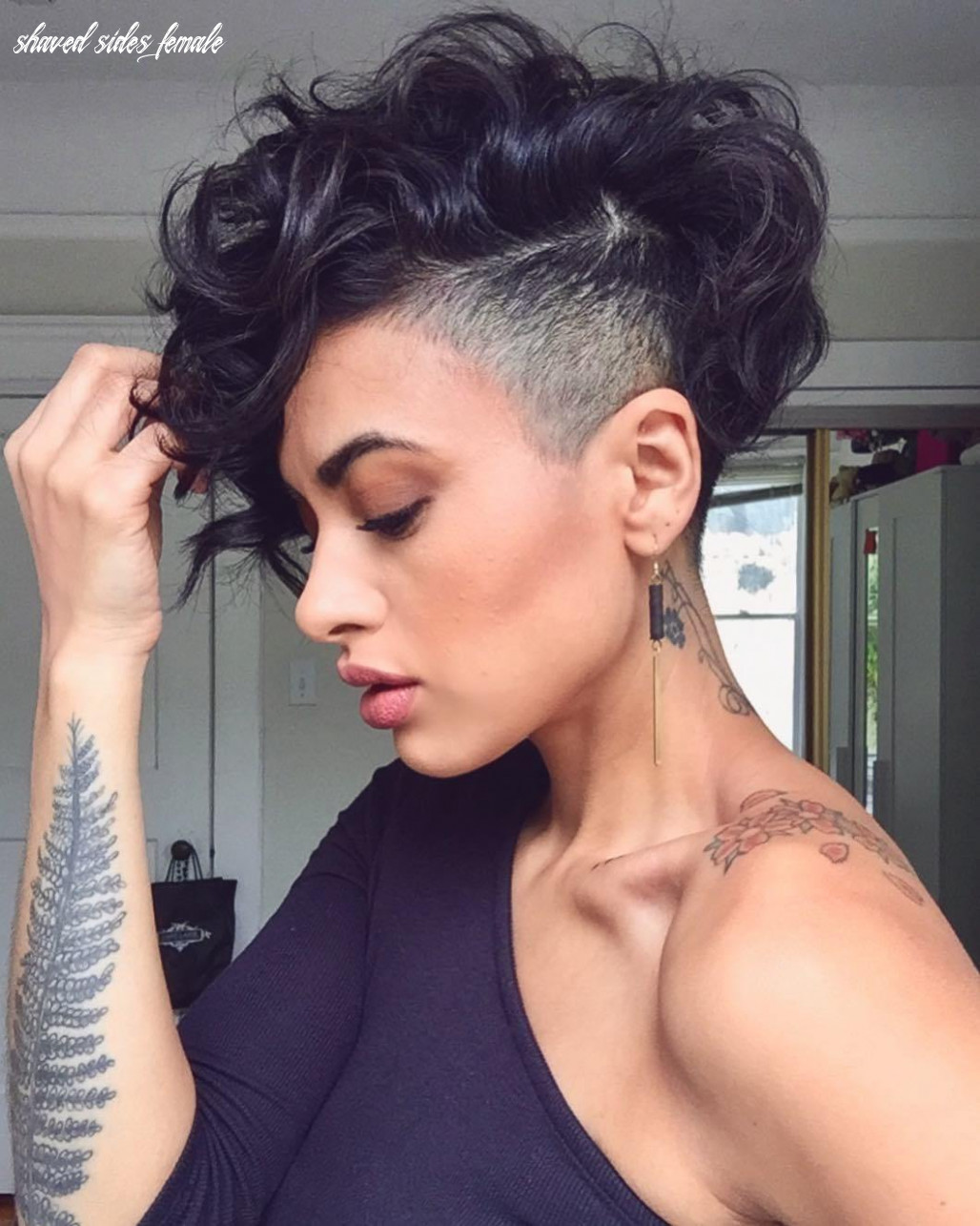 11 bold shaved hairstyles for women | shaved hair designs shaved sides female