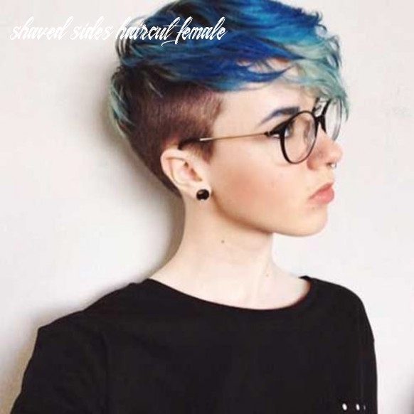 11 bold shaved hairstyles for women shaved sides haircut female