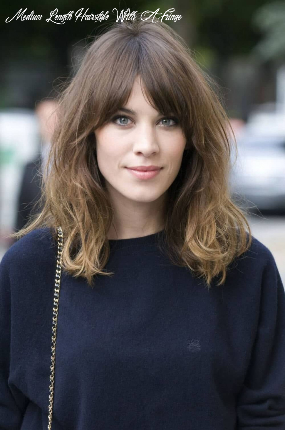 11 breezy hairstyles with bangs to make you shine in 11 medium length hairstyle with a fringe