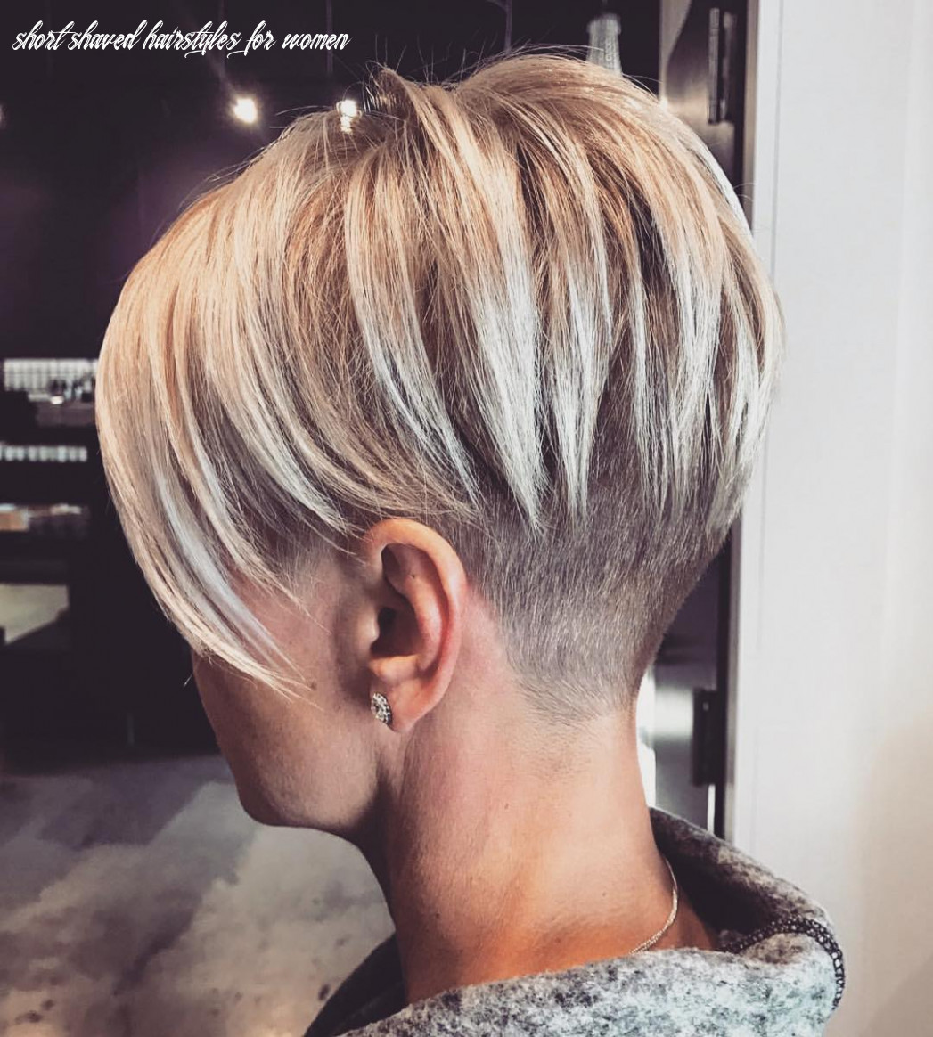 11 chic shaved haircuts for short hair 11 short shaved hairstyles for women