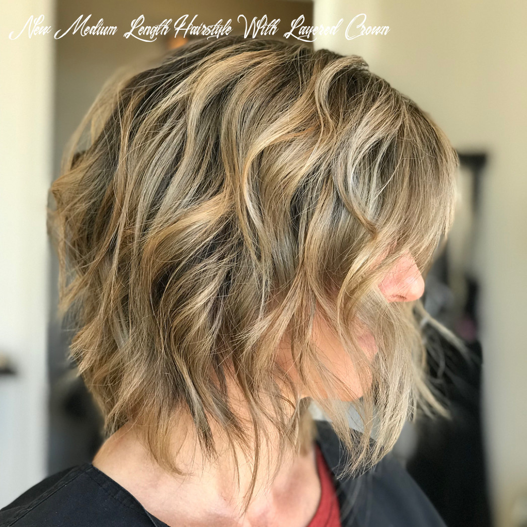 11 choppy bobs you have to see hair adviser new medium length hairstyle with layered crown