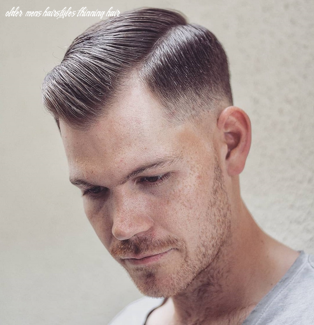 11 classy haircuts and hairstyles for balding men older mens hairstyles thinning hair