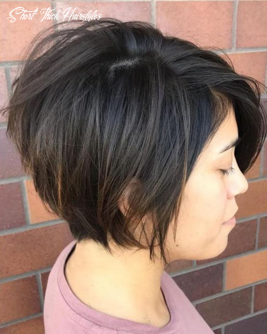 11 classy short haircuts and hairstyles for thick hair | frisuren