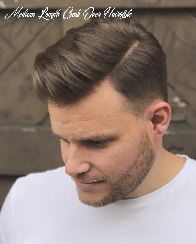 11 comb over haircuts: (not what you think!) medium length comb over hairstyle
