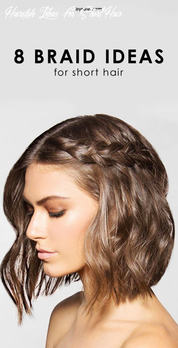 11 cool and easy to pull off braids for short hair | braids for