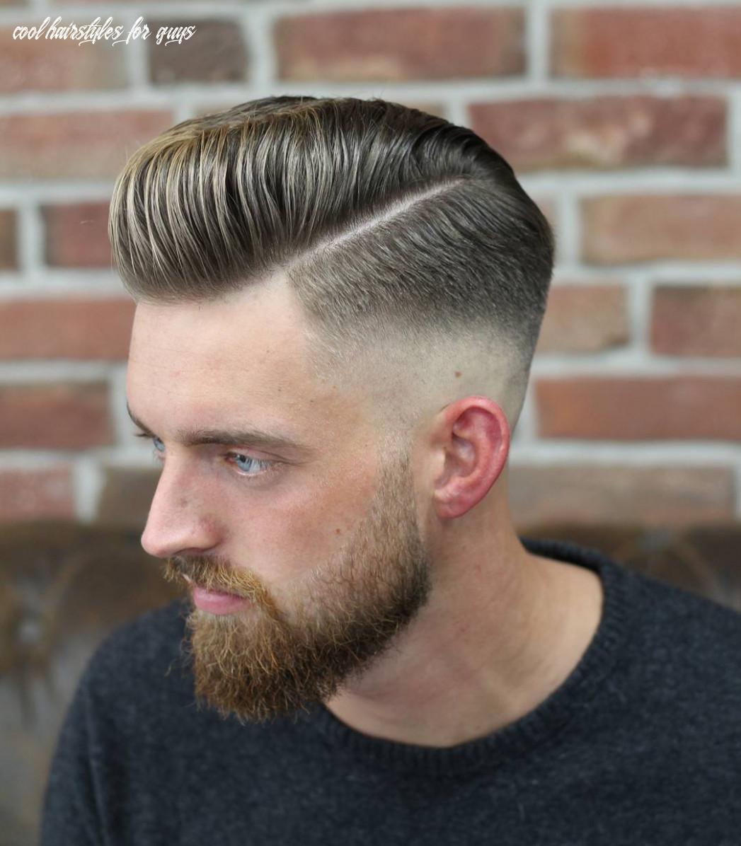 11 cool hairstyles for men (fresh styles) cool hairstyles for guys