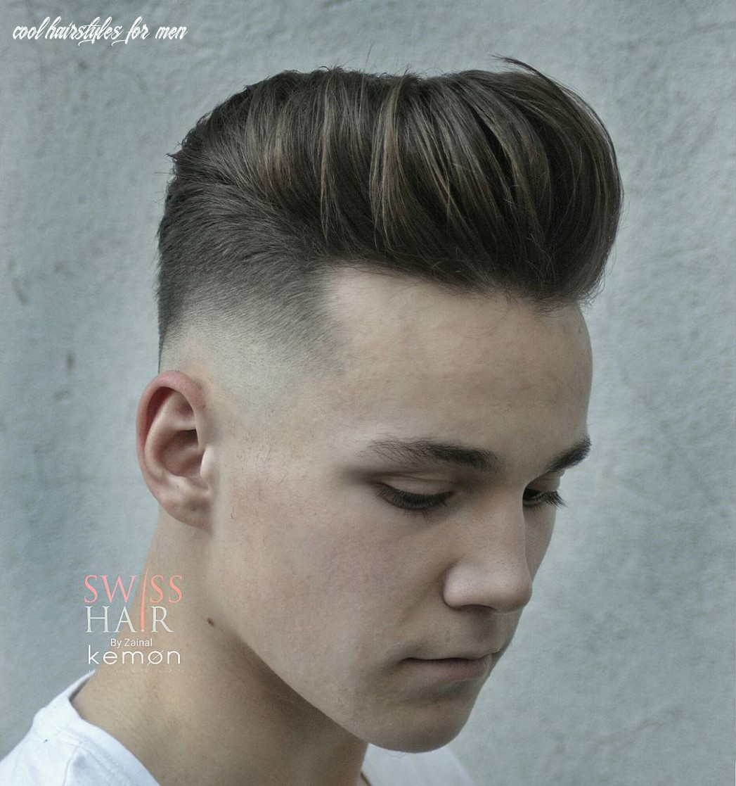 11 cool hairstyles for men (fresh styles) cool hairstyles for men