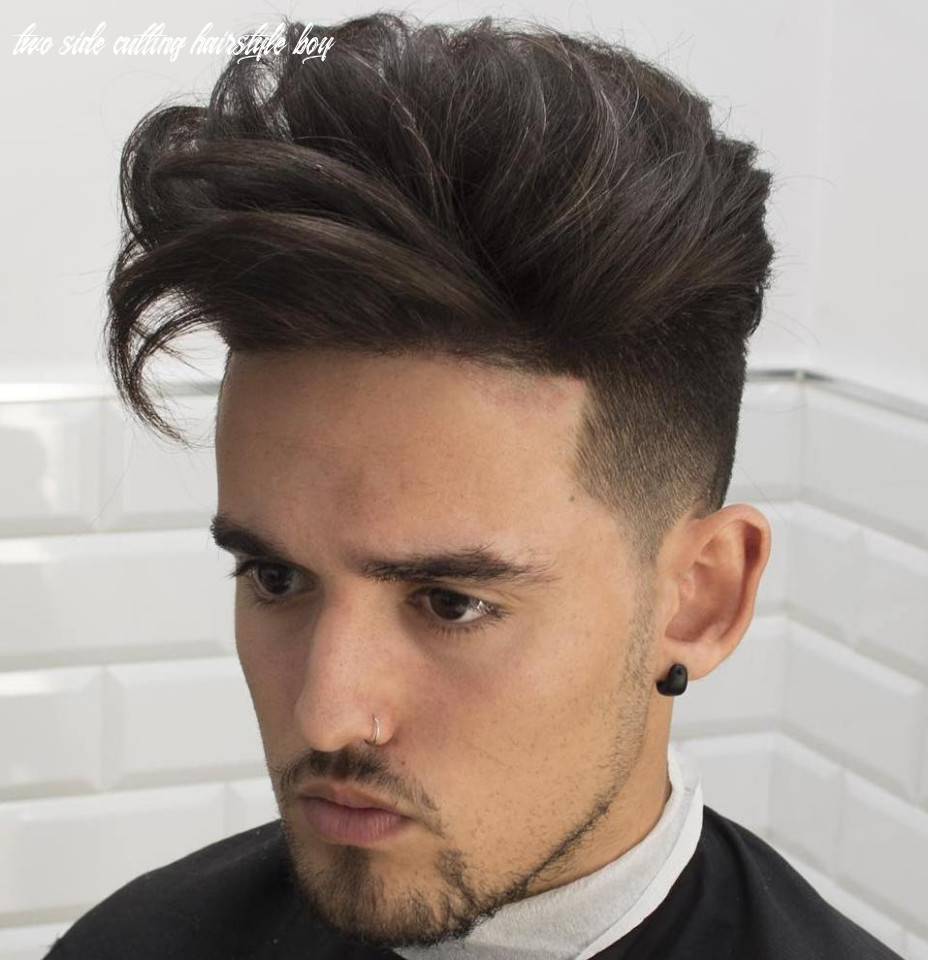 11 cool short hairstyles and haircuts for boys and men two side cutting hairstyle boy