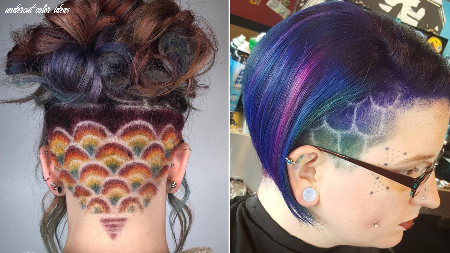 11 cool undercut hairstyle ideas undercut designs | allure undercut color ideas