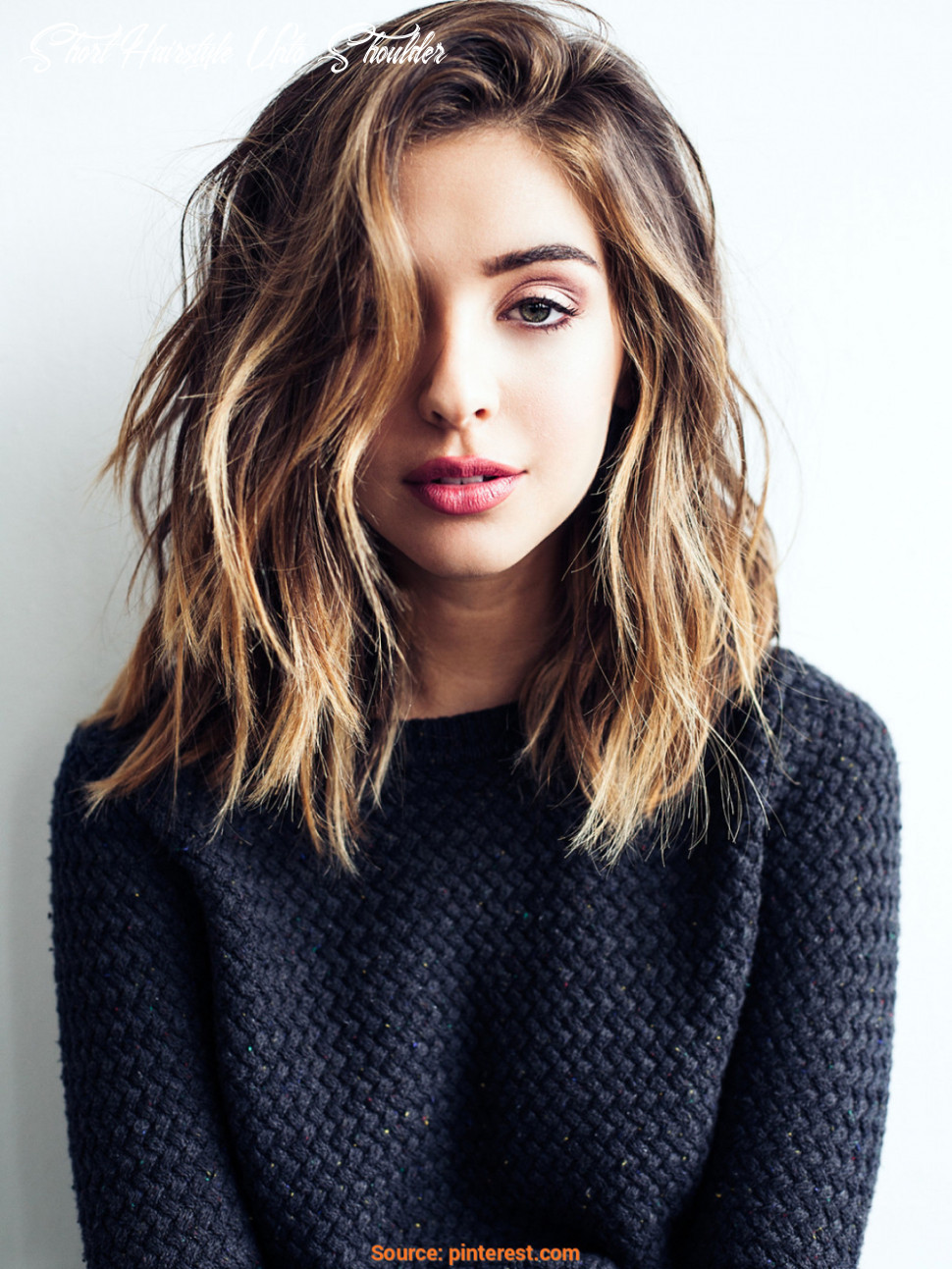 11 cute & easy hairstyles for shoulder length hair short hairstyle upto shoulder