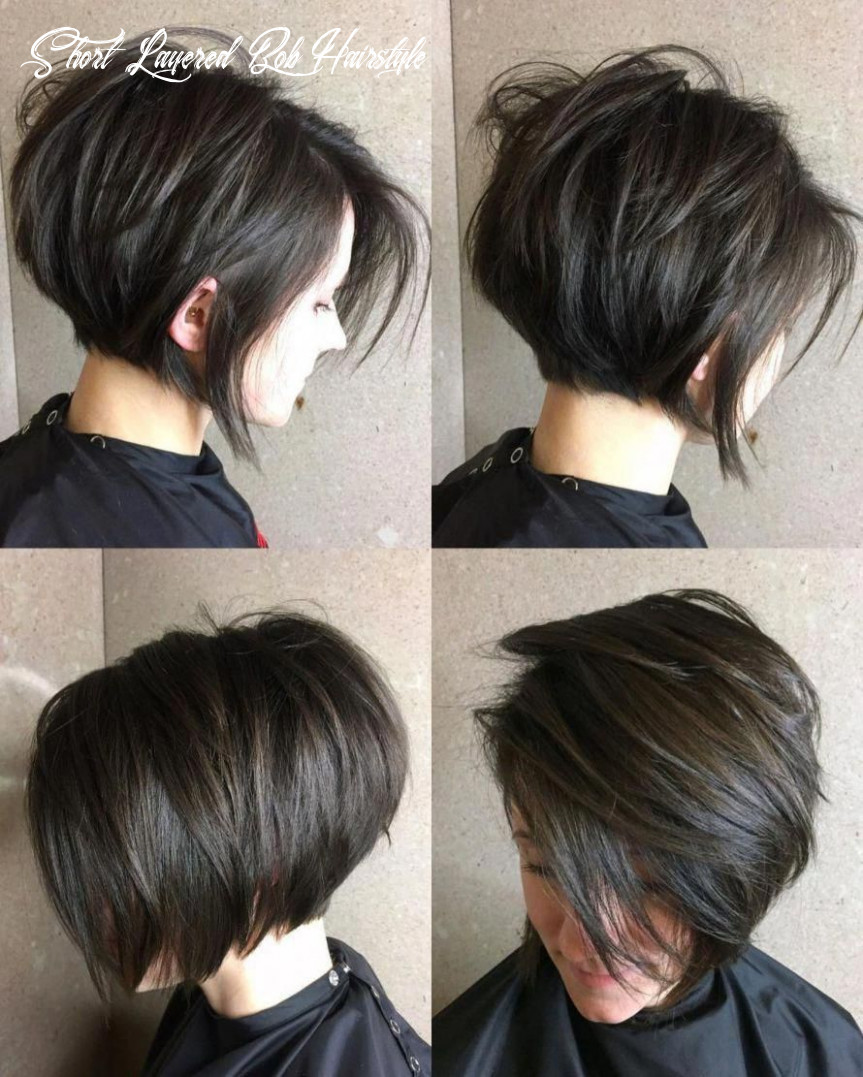 11 cute and easy to style short layered hairstyles in 11 | thick
