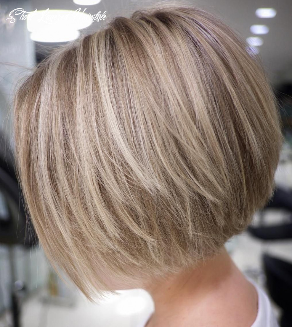11 cute and easy to style short layered hairstyles | rövid frizura