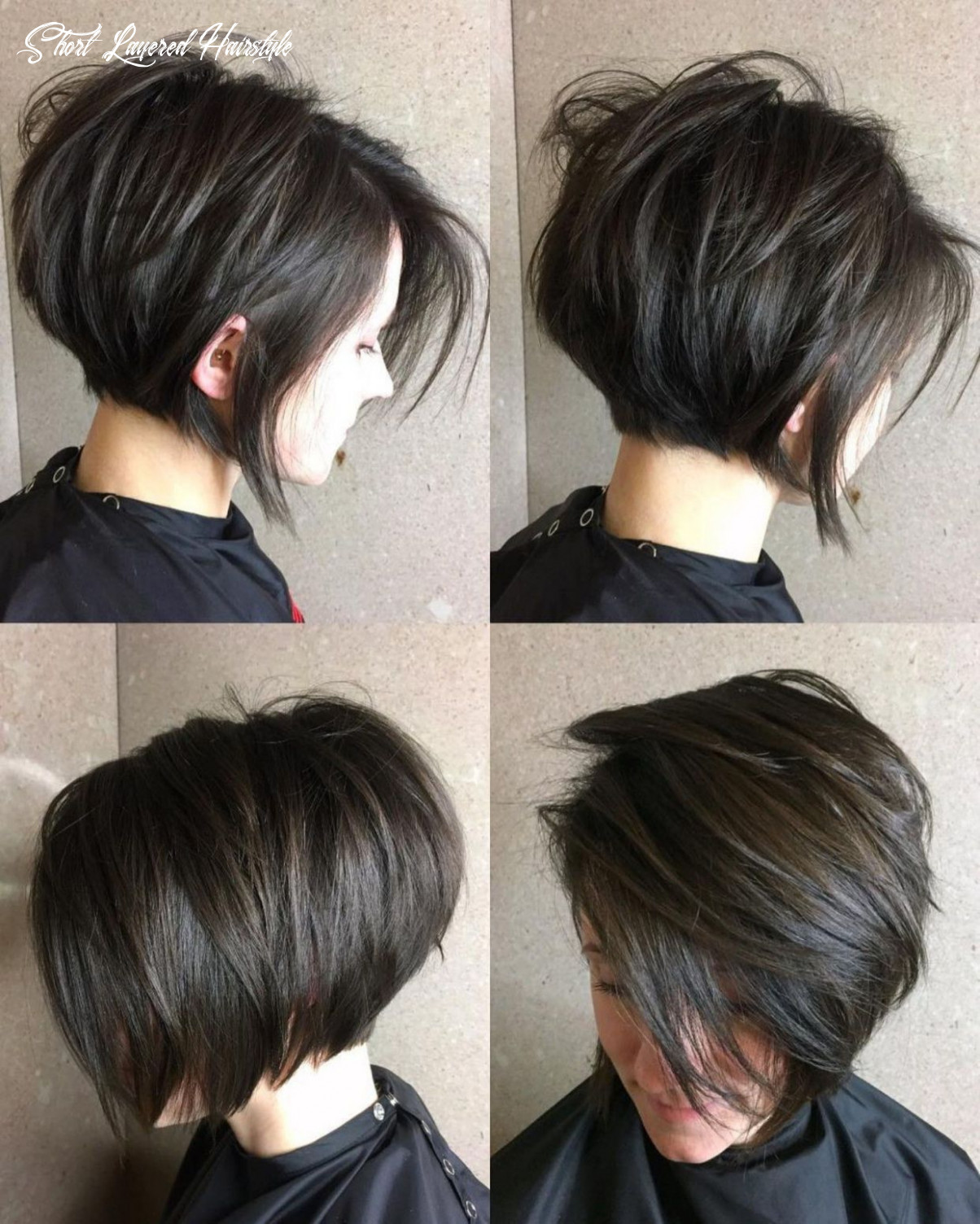 11 cute and easy to style short layered hairstyles | thick hair
