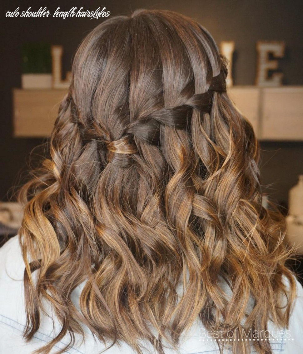 11 cute hairstyles for medium length hair right now cute shoulder length hairstyles