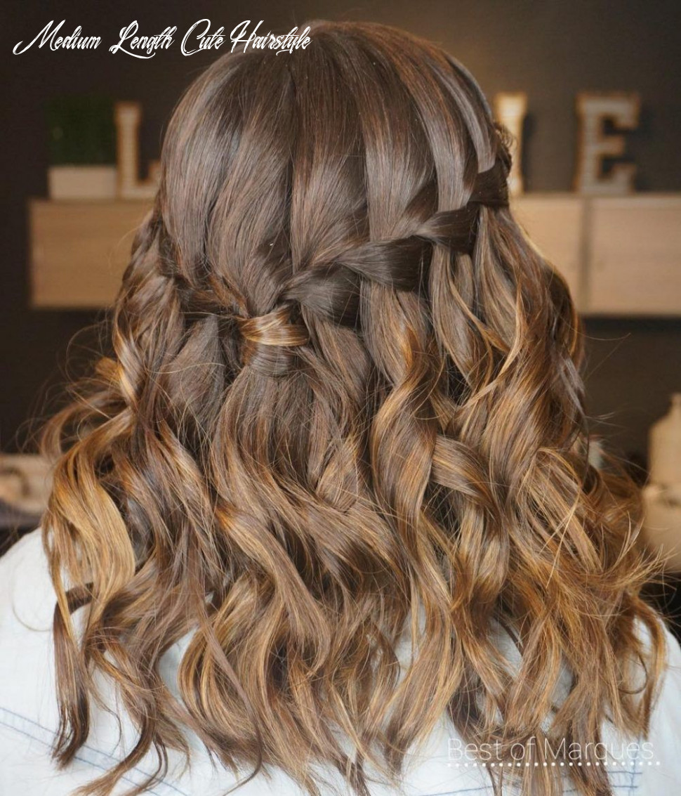 11 cute hairstyles for medium length hair right now (mit bildern