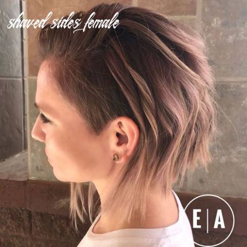 11 cute shaved hairstyles for women shaved sides female