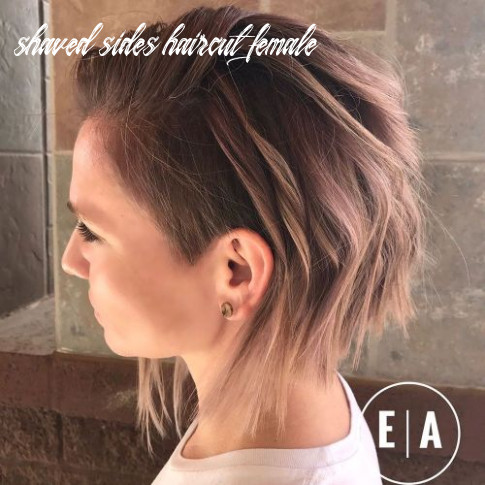 11 cute shaved hairstyles for women shaved sides haircut female