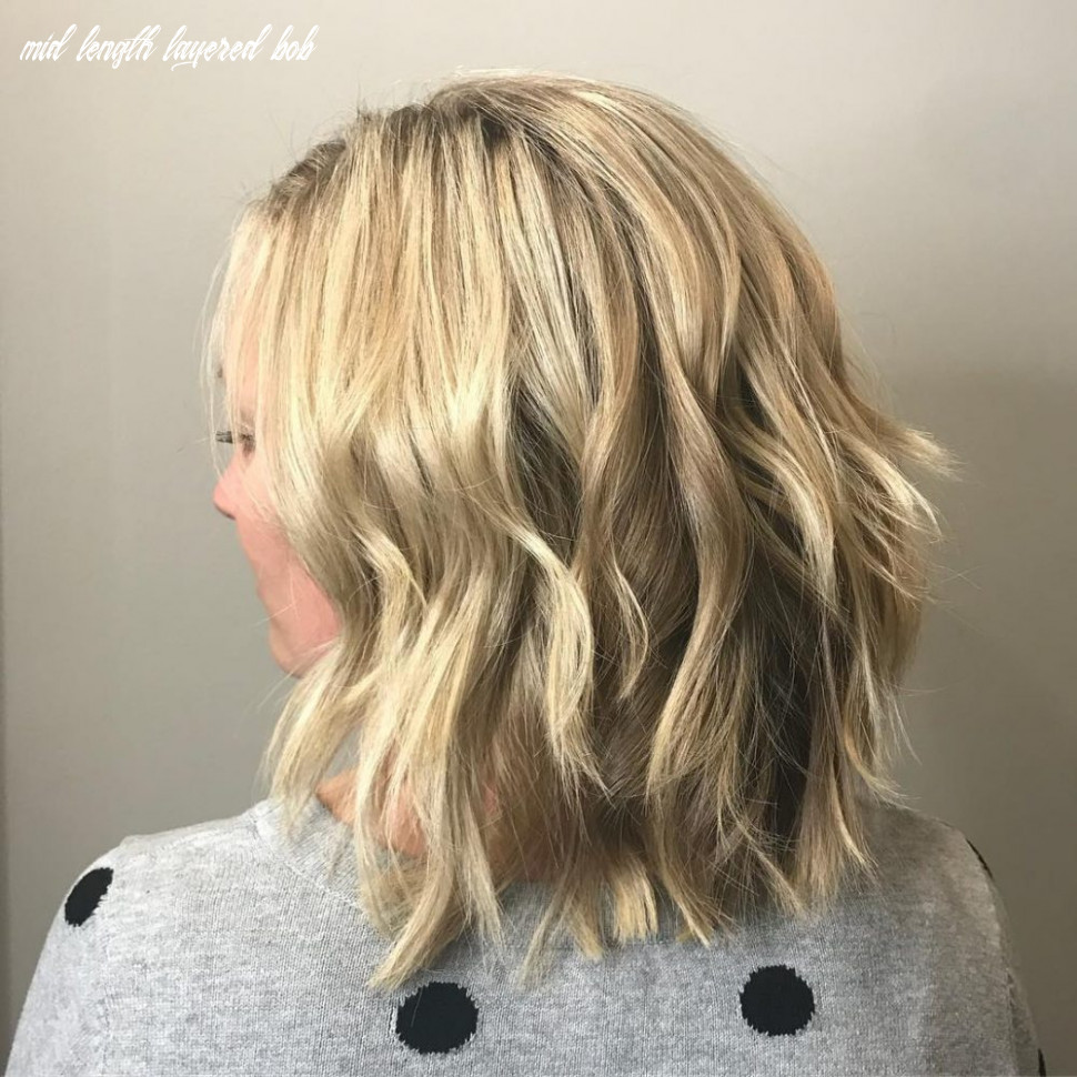 11 cute wavy bob hairstyles that are easy to style mid length layered bob