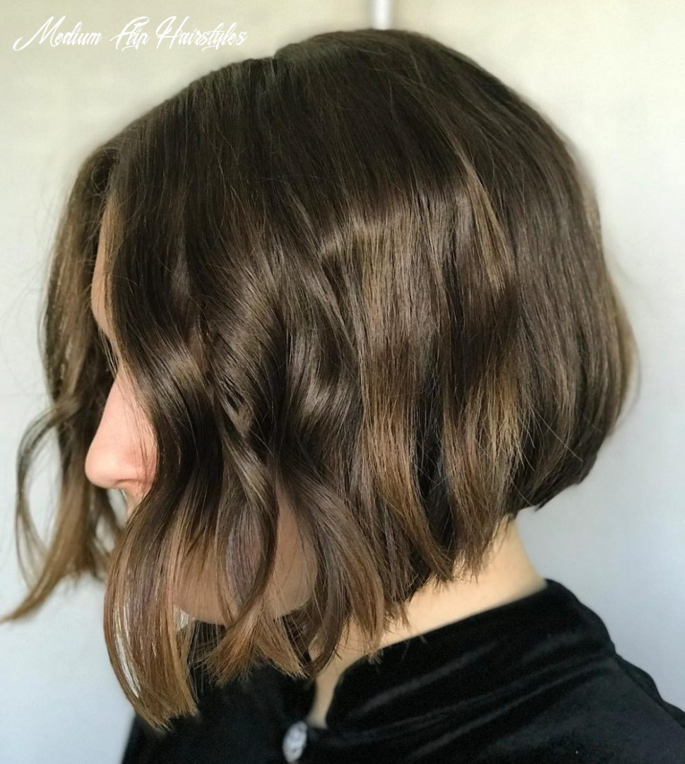 11 cutest chin length hairstyles (trending for 11) medium flip hairstyles