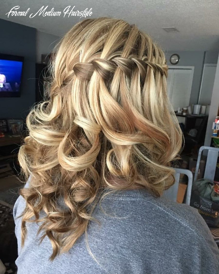 11 cutest prom hairstyles for medium length hair for 11 formal medium hairstyle