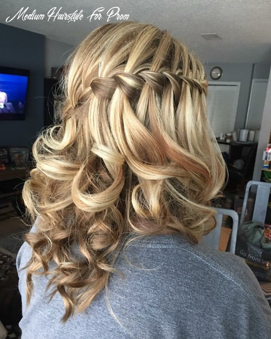 11 cutest prom hairstyles for medium length hair for 11 medium hairstyle for prom