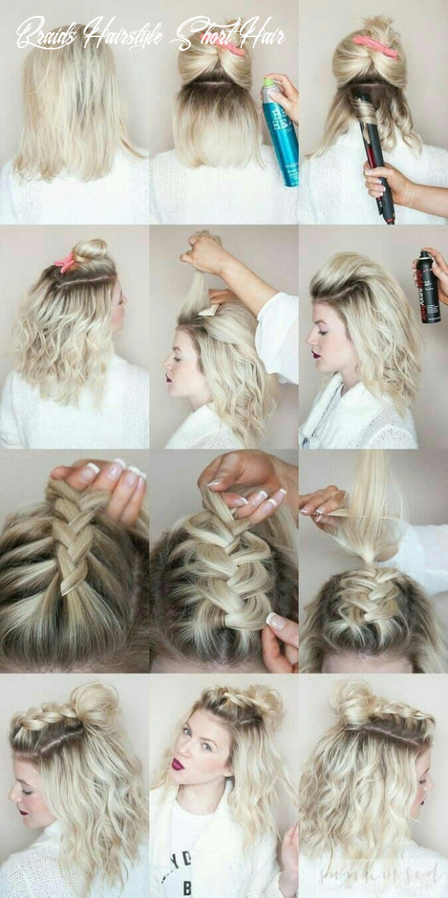 11 Cutest Short Braided Hairstyles for Any Woman