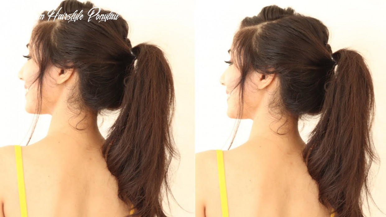 11 Different Ponytail Hairstyles For Black Hair | ponytail Hairstyles For  Short Hair or Medium hair