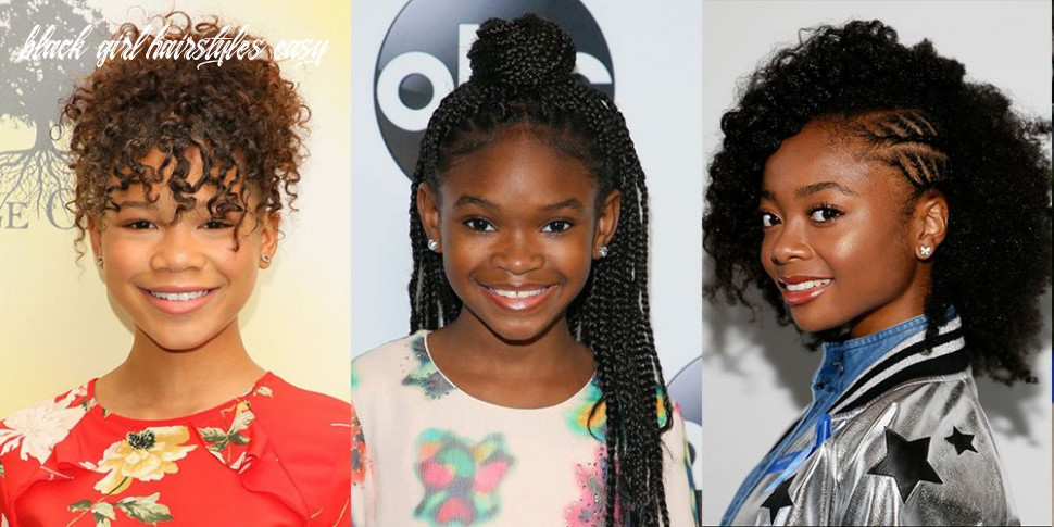 11 easy hairstyles for black girls natural hairstyles for kids black girl hairstyles easy