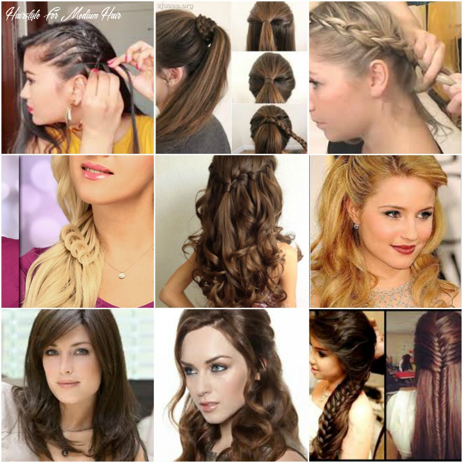 11 easy hairstyles for medium hair for party in 11 hairstyle for medium hair