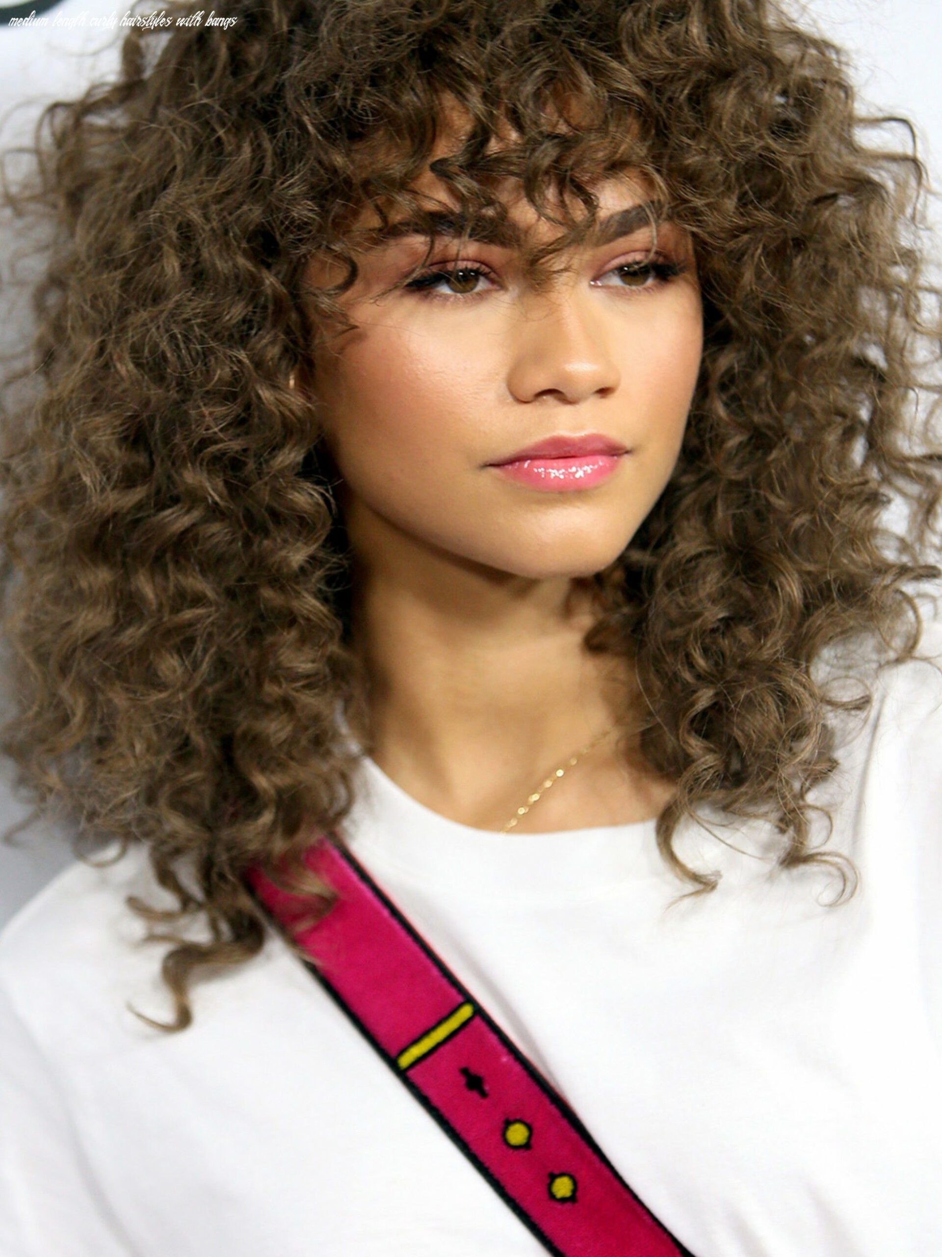 11 easy hairstyles for medium length curly hair for school | curly
