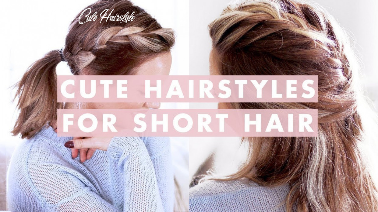 11 Easy Hairstyles For Short/Medium Length Hair