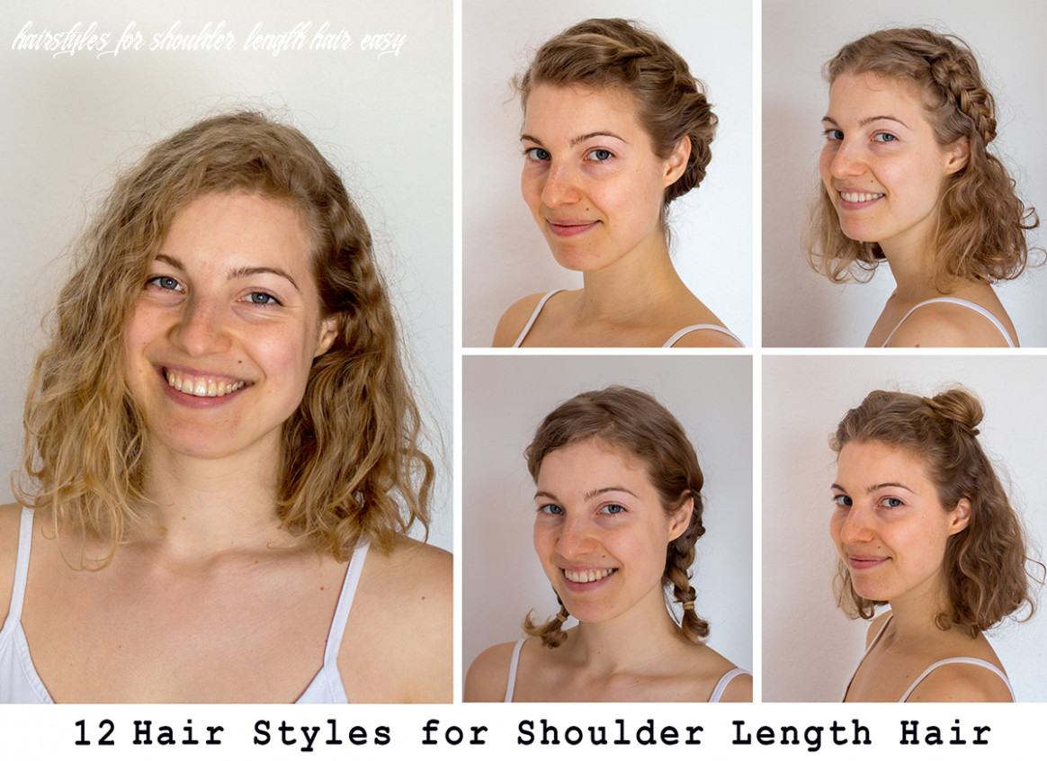 11 Easy Hairstyles For Shoulder Length Hair | Long Bob