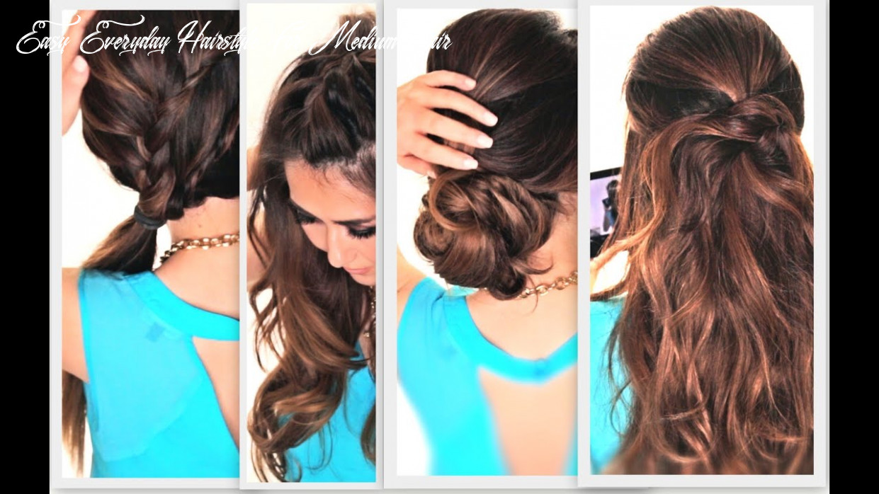 11 EASY LAZY HAIRSTYLES   CUTE EVERYDAY HAIRSTYLE