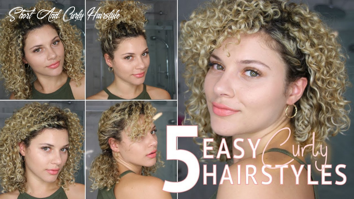 11 easy short curly hairstyles using twists to wear to work or school short and curly hairstyle