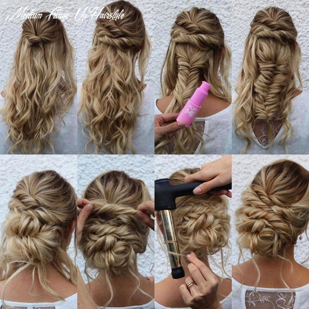 11 easy updo hairstyles for medium length hair in 11 in 11
