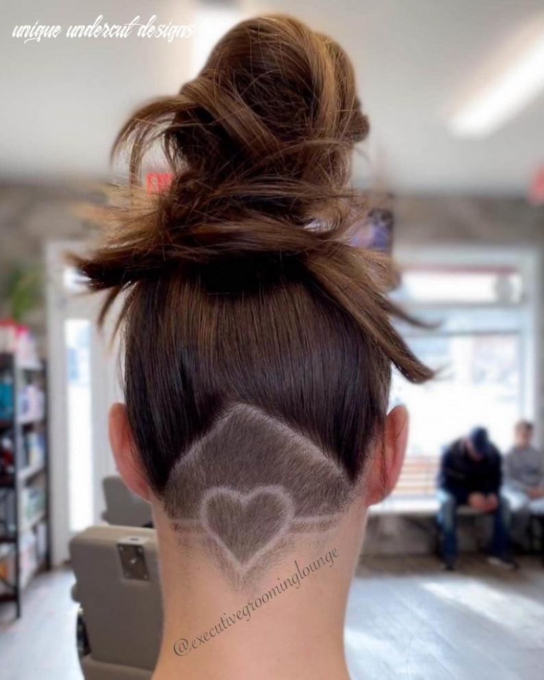 11 edgy and artistic female undercut designs bestcomely