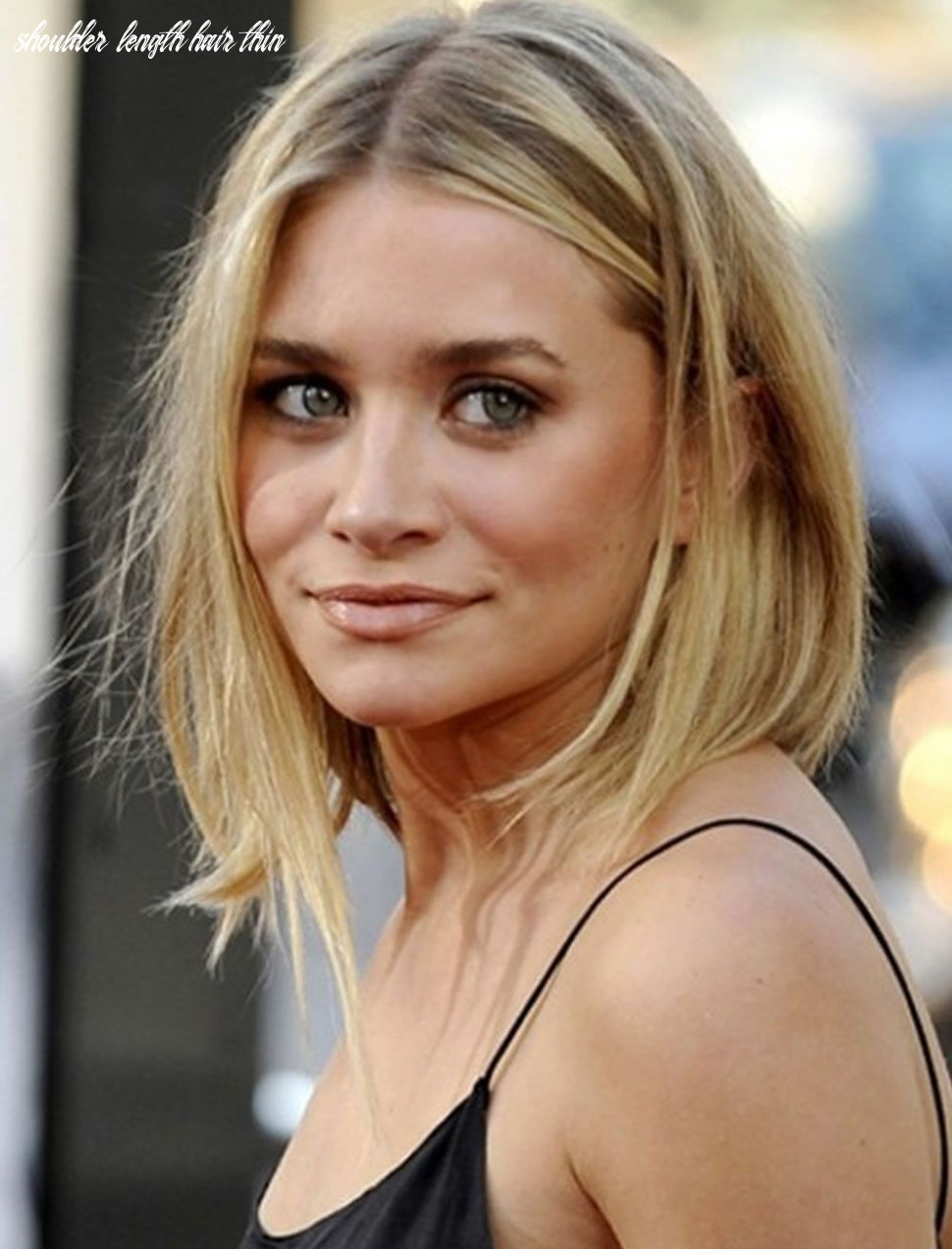 11 excellent picture of shoulder length haircuts for thin hair